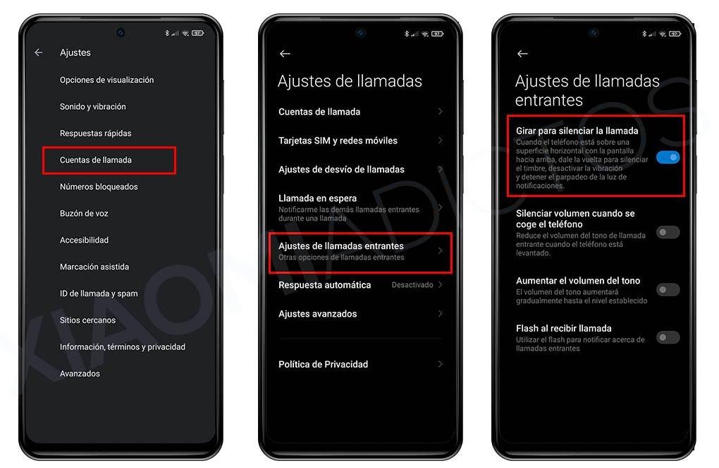 Stummschalten des Xiaomi-Anrufs durch Drehen des Bildschirms, Vibration und LED. Nachrichten Xiaomi Addicts