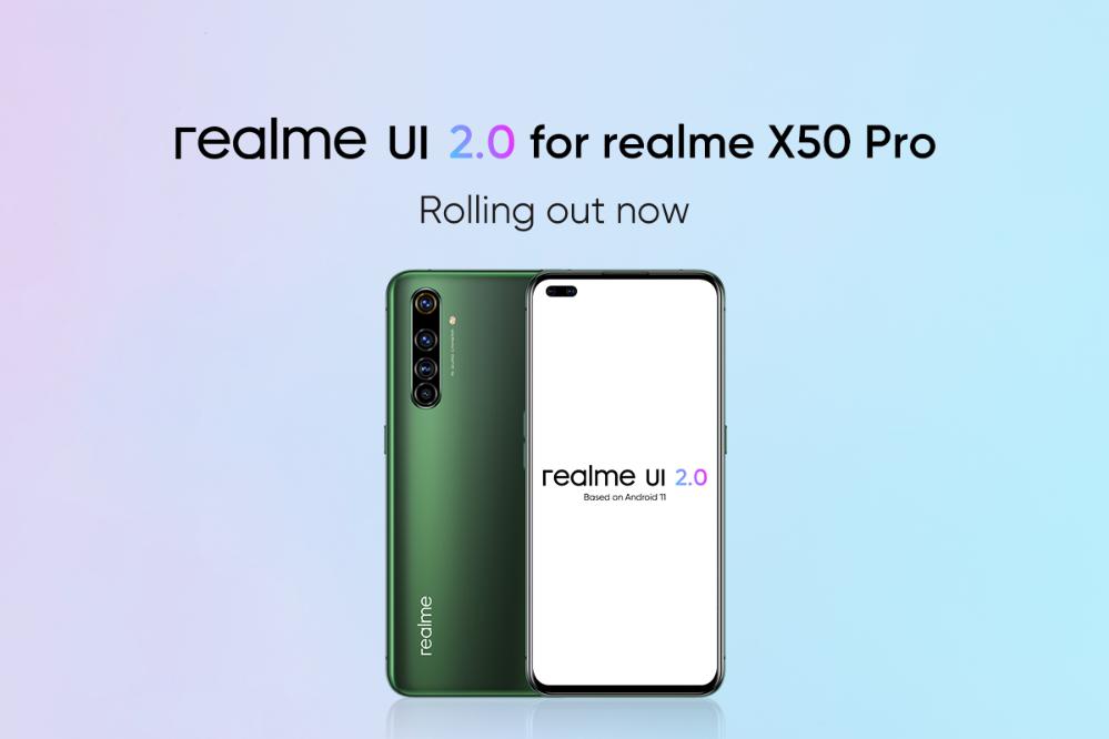 Realme X50 Pro Realme UI 2.0 Stabiles Update
