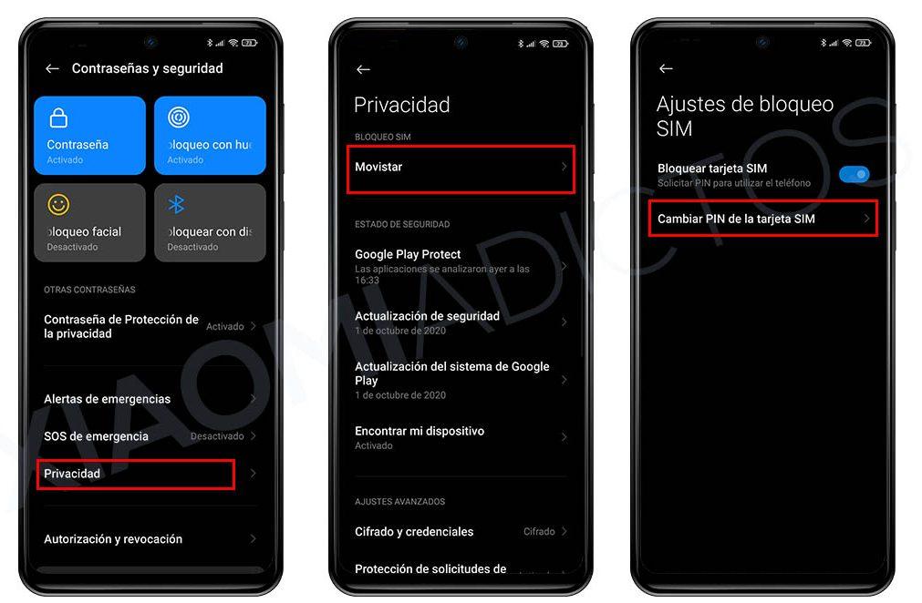 Ändern Sie die Xiaomi SIM-PIN und den Redmi-Code von MIUI. Nachrichten Xiaomi Addicts