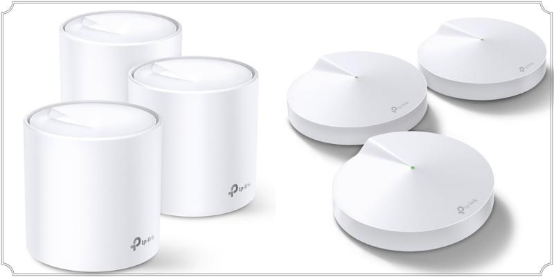 Vergleich von TP Link Deco Geräten