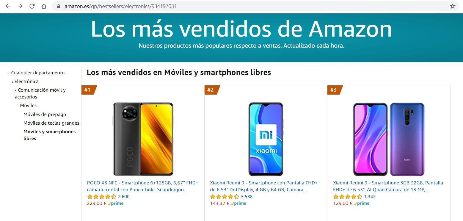 Cuatro meses después el POCO X3 NFC sigue siendo el smartphone mas vendido. Noticias Xiaomi Adictos