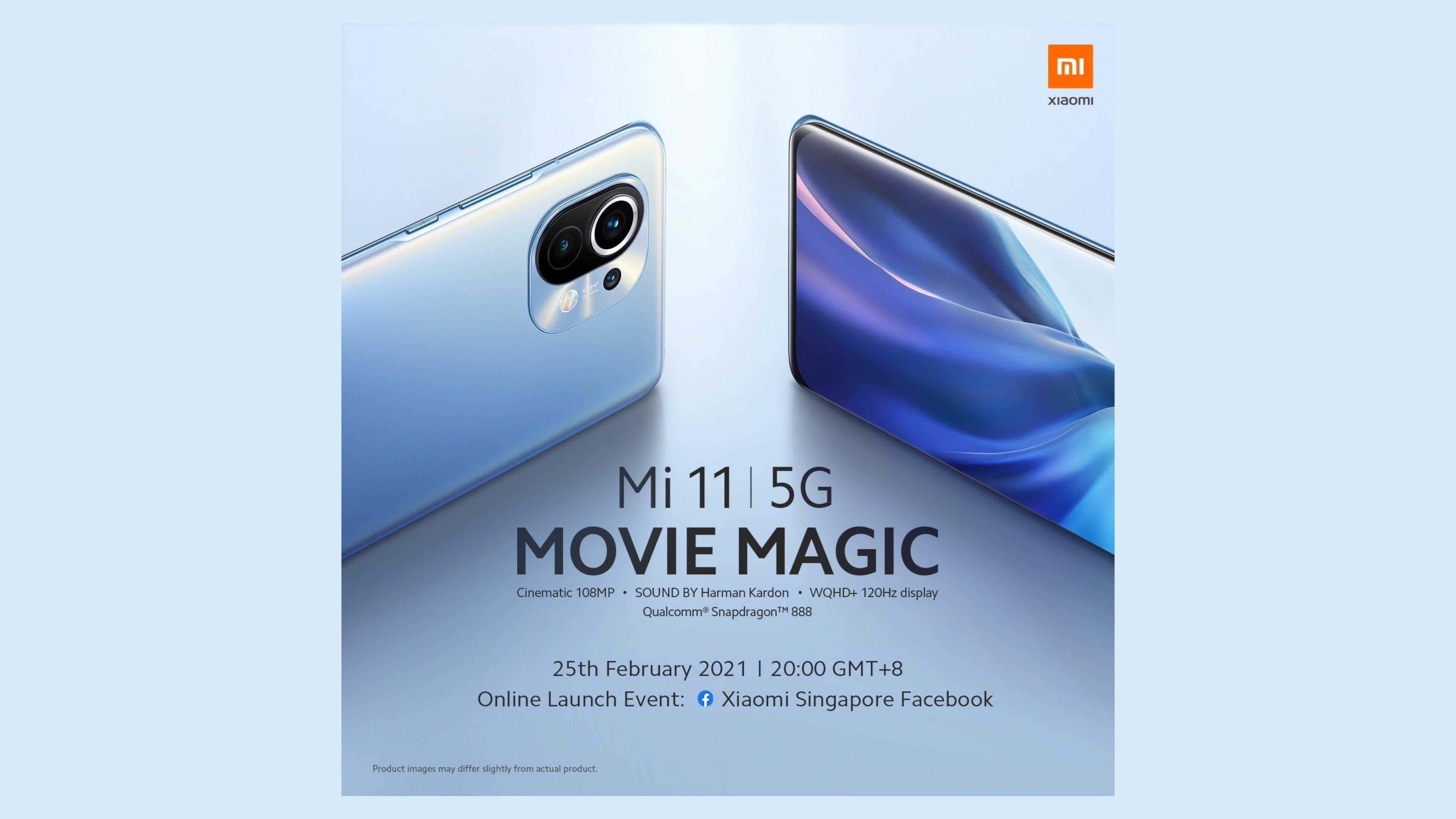 Xiaomi Mi 11 Singapore Startdatum