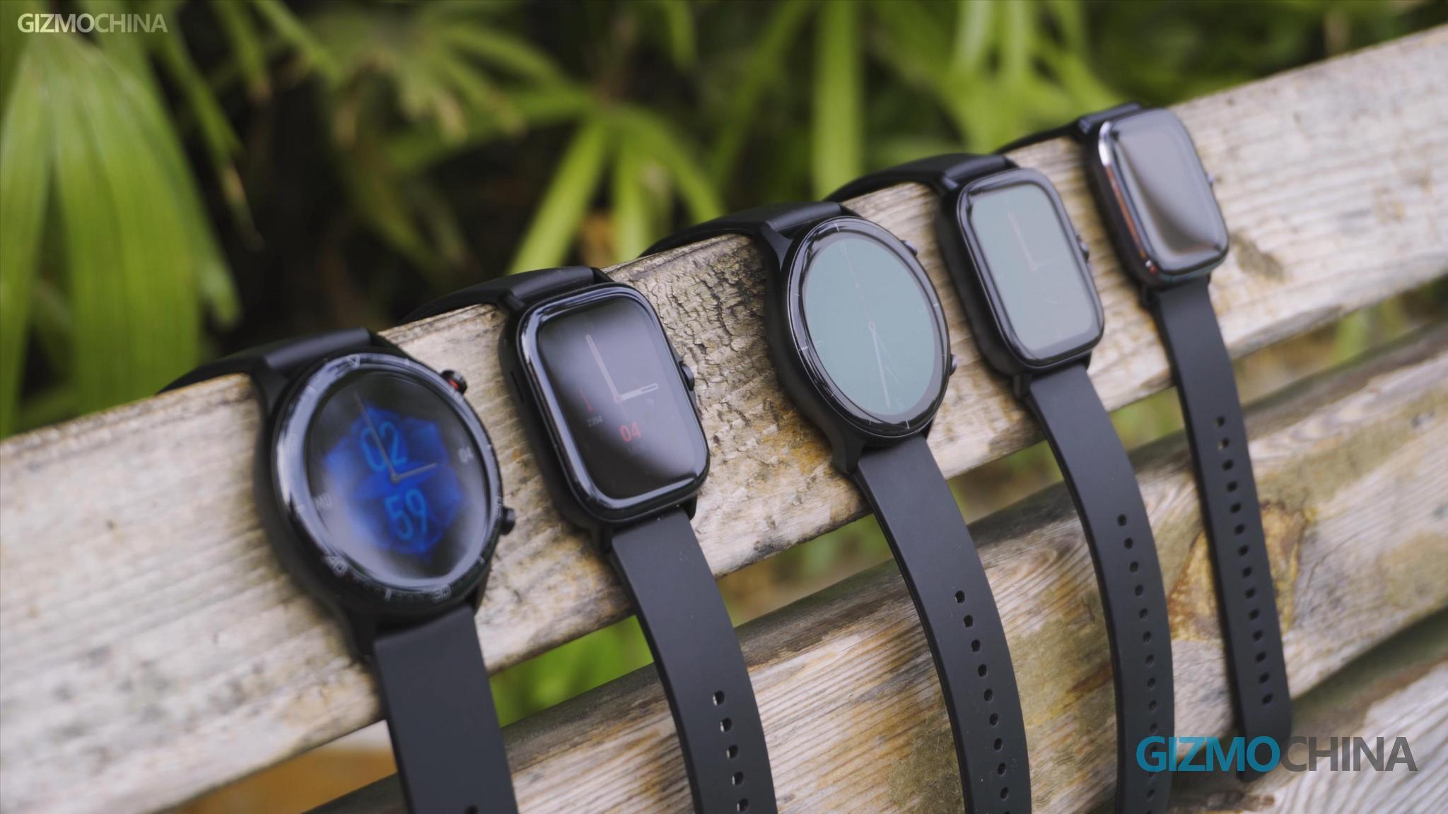 Amazfit GTR GTS mit Smartwatch-Vergleich (7)