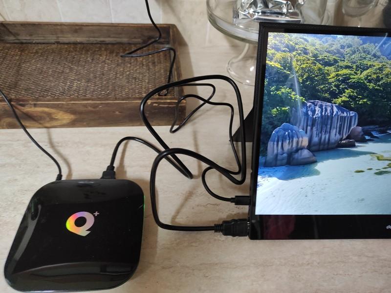 Android TV-Box und Desklab