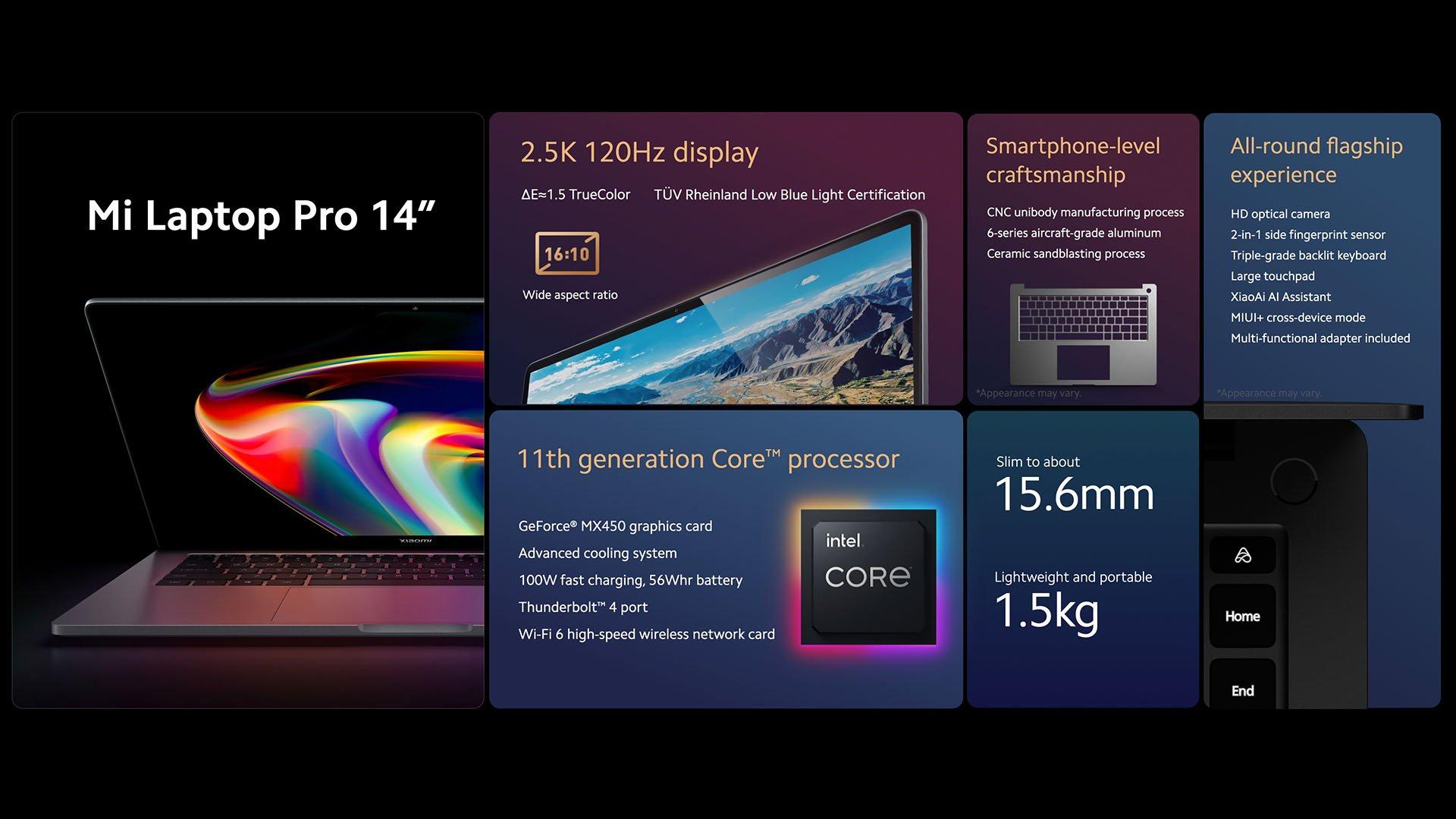 Así es el nuevo Xiaomi Mi Laptop Pro, un portátil premium con pantalla OLED y diseño ultra ligero. Noticias Xiaomi Adictos