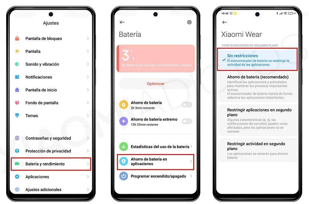 Beheben Sie die Fehler in den Benachrichtigungen der Xiaomi Mi Watch und des Xiaomi Mi Band. Nachrichten Xiaomi Addicts
