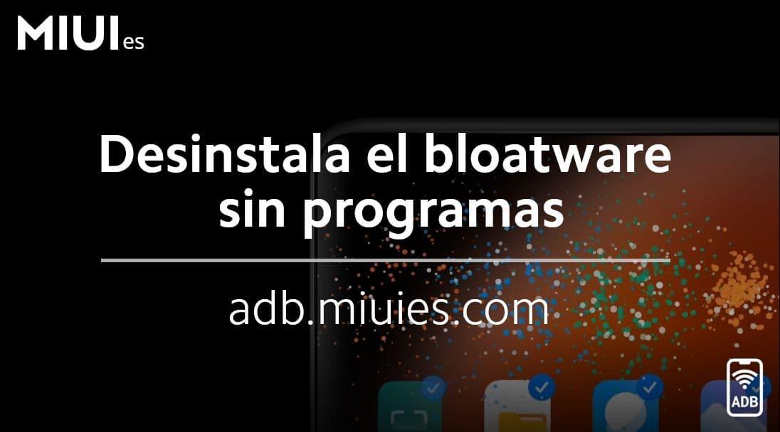 Deinstallieren Sie die gesamte Bloatware von Ihrem Xiaomi ohne Anwendungen, nur Ihren Browser. Nachrichten Xiaomi Addicts
