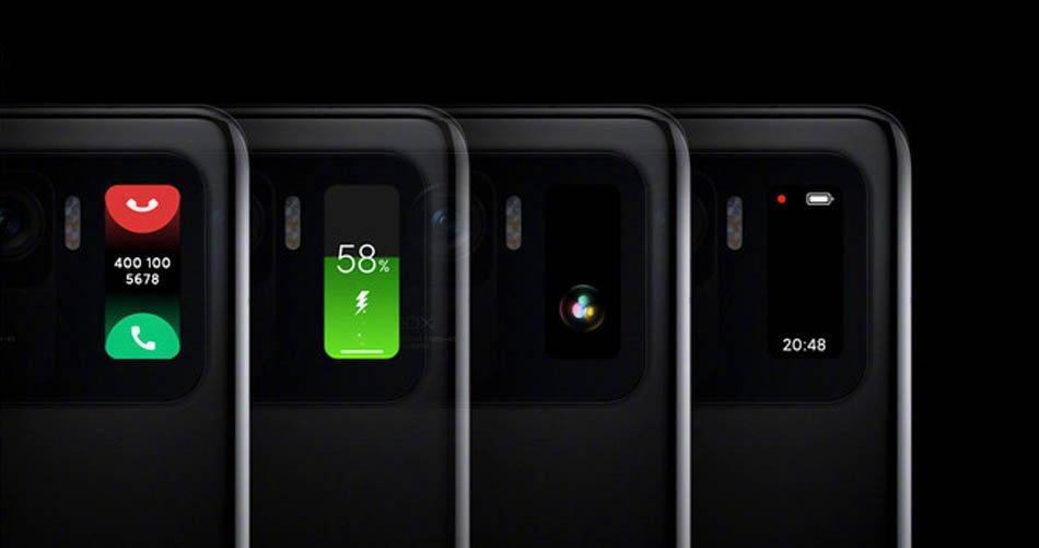 Der Mini-Bildschirm des Xiaomi Mi 11 Ultra erwies sich als der gleiche Bildschirm des Mi Band 5. News Xiaomi Addicts