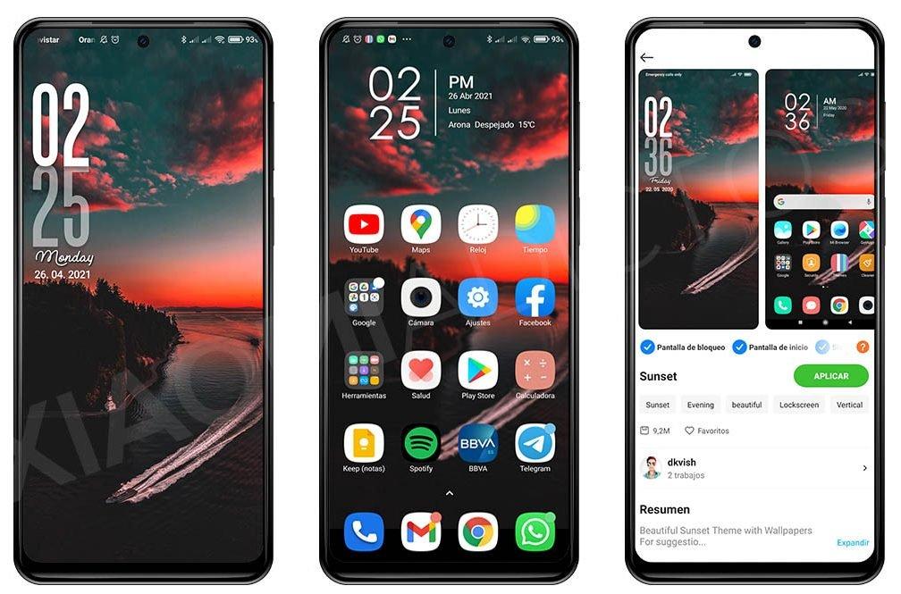 Dale un toque diferente a la pantalla de bloqueo de tu Xiaomi gracias a este tema. Noticias Xiaomi Adictos