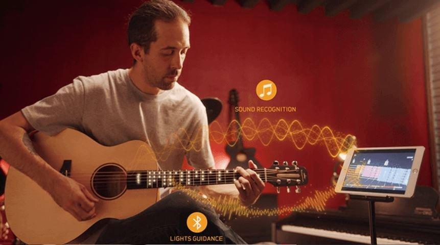 Con esta guitarra inteligente que vende Xiaomi aprenderás a tocar en pocos minutos. Noticias Xiaomi Adictos
