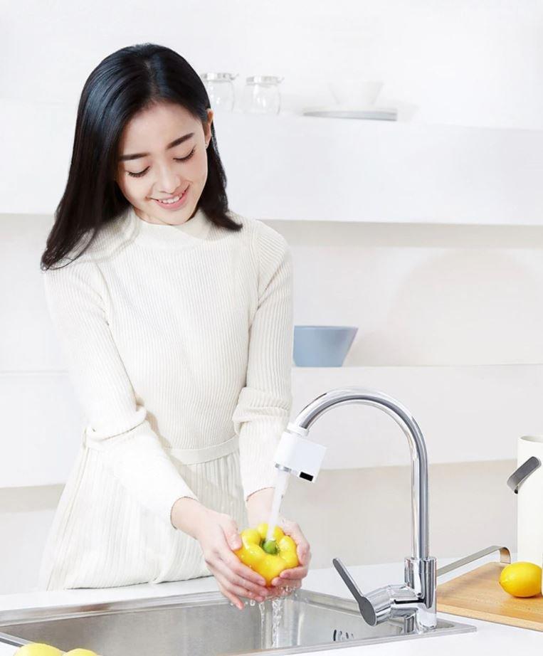 Dieser intelligente Sensor für Wasserhähne von Xiaomi spart Wasser und ist sehr praktisch. Nachrichten Xiaomi Addicts