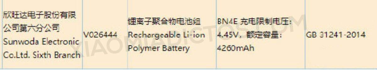 Un nuevo Xiaomi aparece certificado en en China, ¿Xiaomi Mi Note 11?. Noticias Xiaomi Adictos