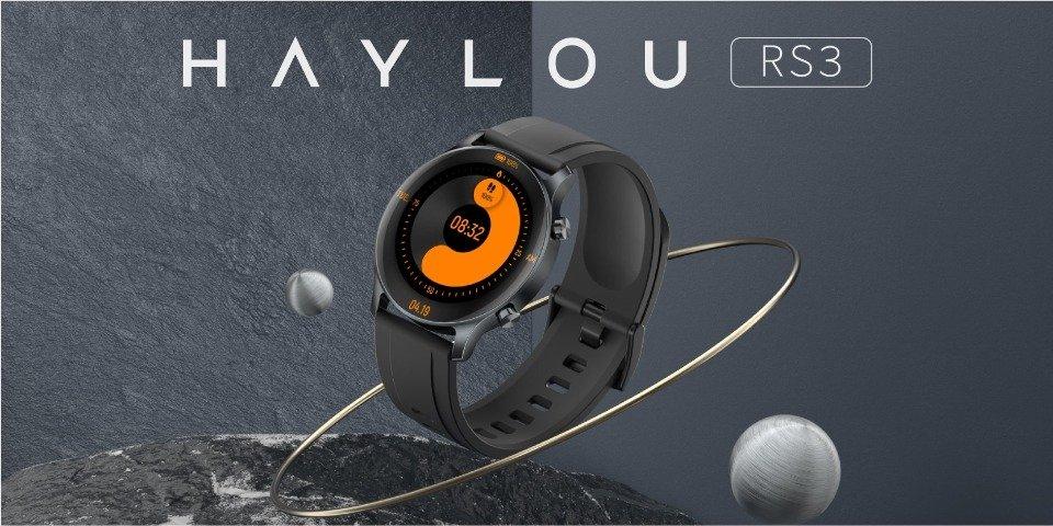 Nuevo Haylou RS3, un smartwatch con pantalla AMOLED, GPS y SpO2 por menos de 70 euros. Noticias Xiaomi Adictos
