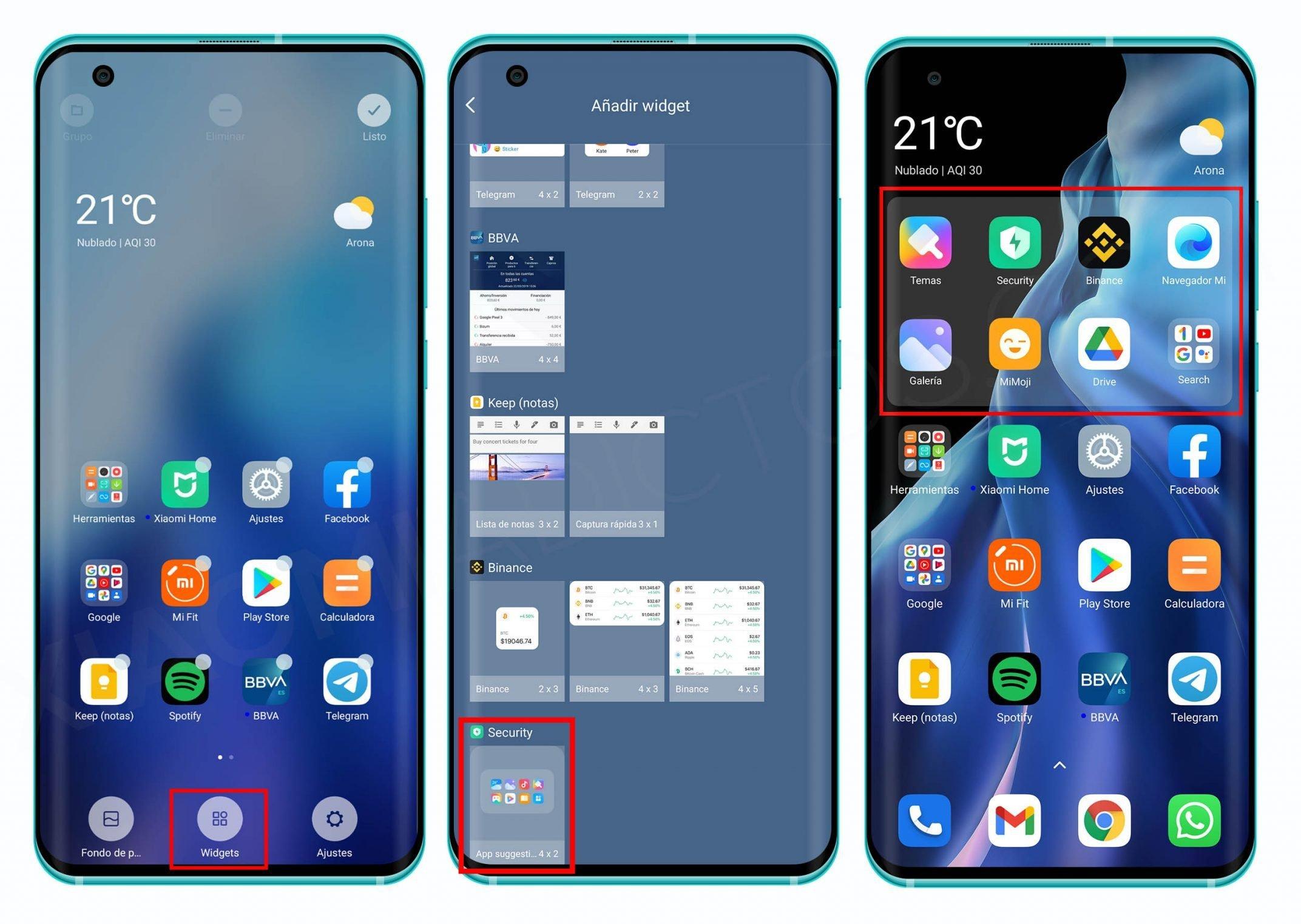 So können Sie die neuen intelligenten MIUI-Widgets auf Ihrem Xiaomi installieren. Nachrichten Xiaomi Addicts