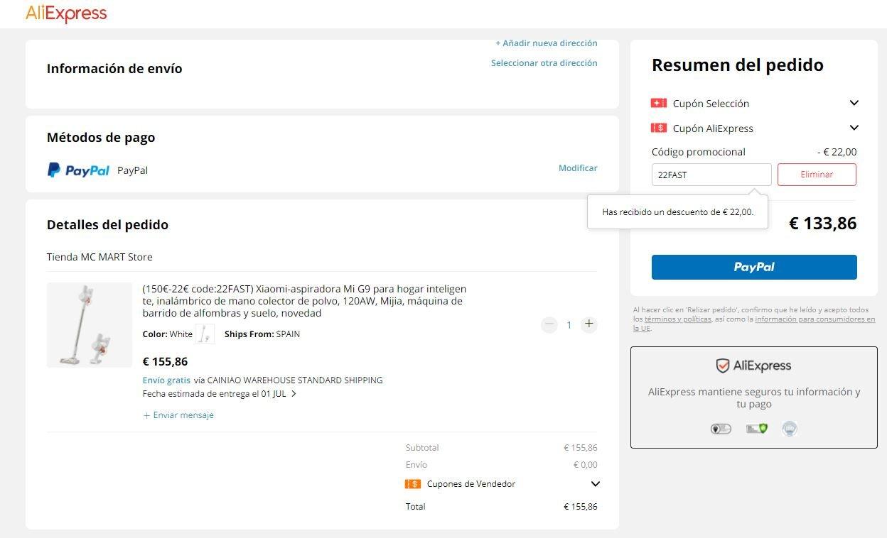 La aspiradora Xiaomi Mi Vacuum Cleaner G9 nunca había estado tan barata. Noticias Xiaomi Adictos