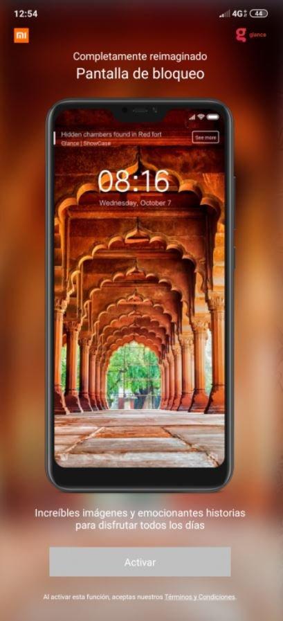 Qué es Glance y cómo puedes activarlo en la pantalla de bloqueo de tu Xiaomi. Noticias Xiaomi Adictos