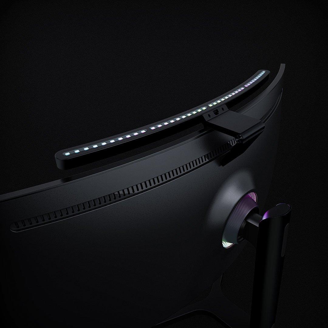 Lo último de Xiaomi es esta lámpara RGB e inteligente para monitores curvos. Noticias Xiaomi Adictos