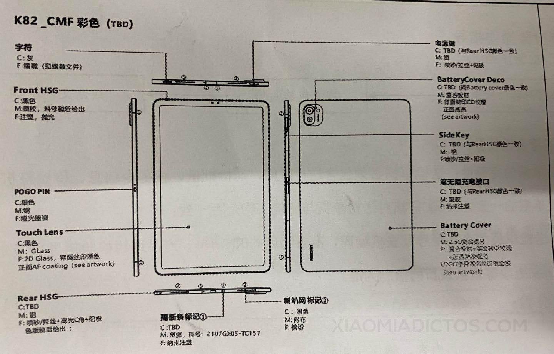 Se filtra la imagen más fiable de la Xiaomi Mi Pad 5 que hemos tenido hasta la fecha. Noticias Xiaomi Adictos