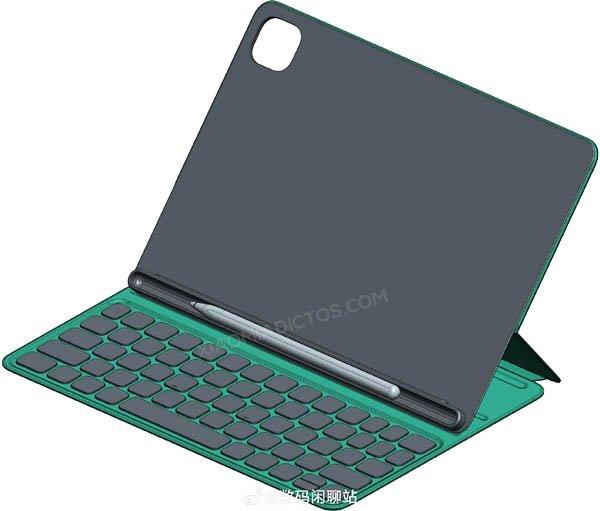 Se filtran las primeras imágenes de la funda, teclado y lápiz de la Xiaomi Mi Pad 5. Noticias Xiaomi Adictos