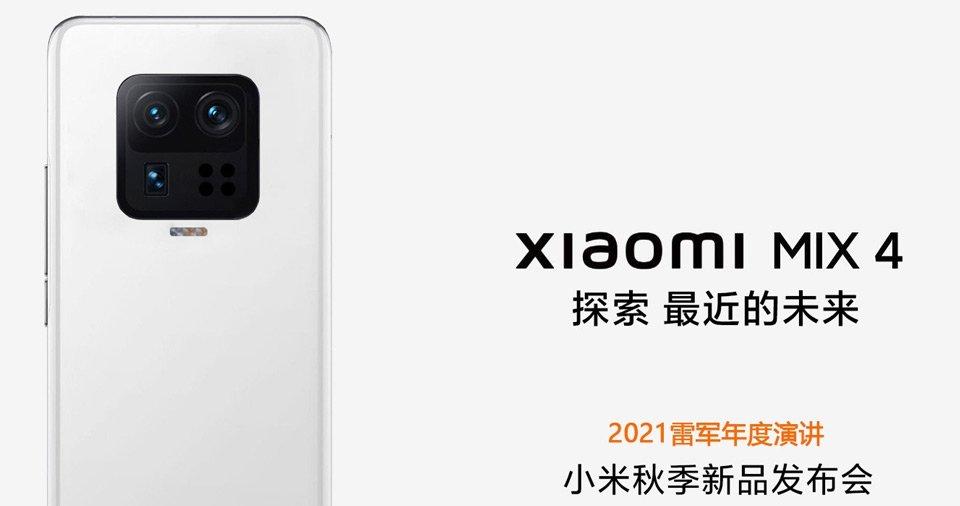 Präsentation des neuen Xiaomi Mi Mix 4