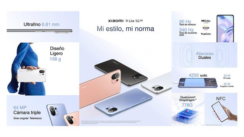 Xiaomi 11 Lite 5G New Edition: ligero pero con el rendimiento de un flagship. Noticias Xiaomi Adictos