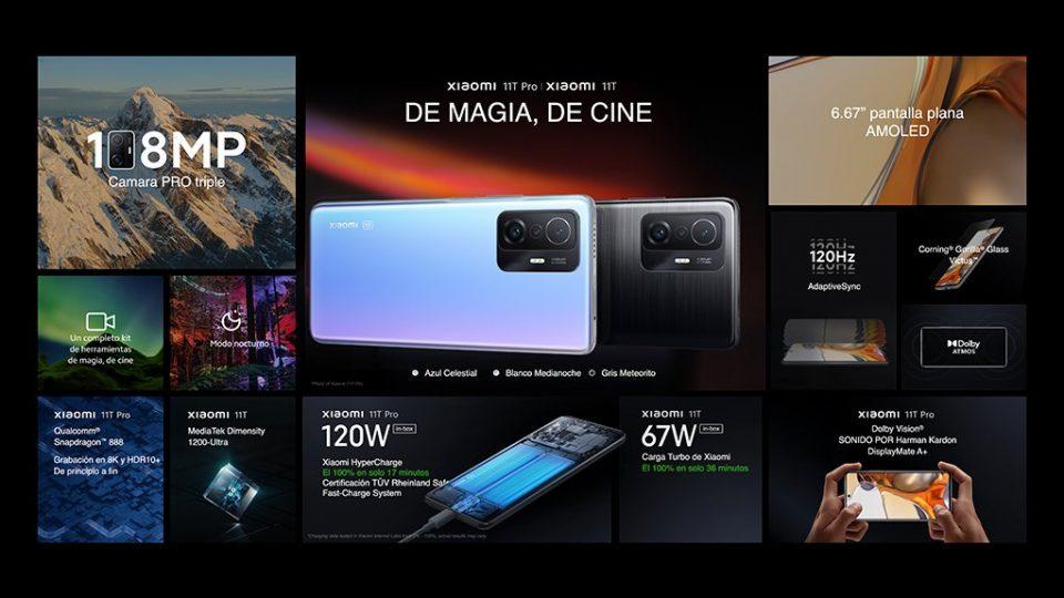 Así son los nuevos Xiaomi 11T y 11T Pro: capaces de cargarse en solo 17 minutos. Noticias Xiaomi Adictos