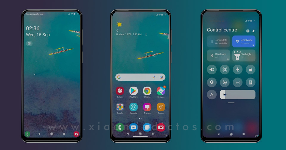 Samsung UI-Theme